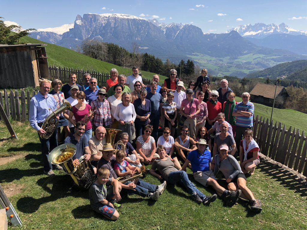 Chorausflug nach Südtirol