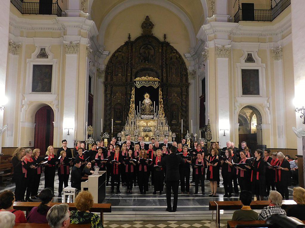 Gastkonzert in Sevilla/Spanien